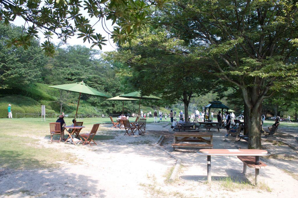 広島市植物公園 水遊び広場 別角度